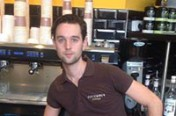 Timothy Gladhill du Columbus Café de Montpellier